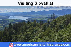 Buy travel insurance for Slovakia