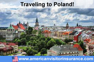Buy visitor insurance for Poland