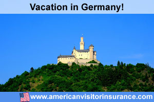 Buy visitor insurance Germany