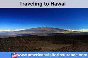 Buy visitor insurance for Hawaii