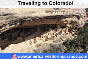 buy visitor insurance for Colorado