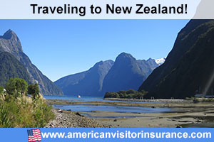 Buy visitor insurance for New Zealand