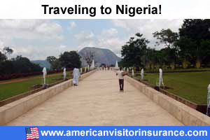 Buy visitor insurance for Nigeria