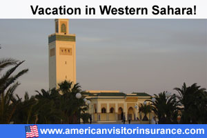 Western Sahara travel insurance