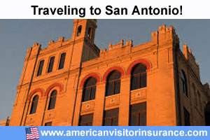 Buy visitor insurance for San Antonio