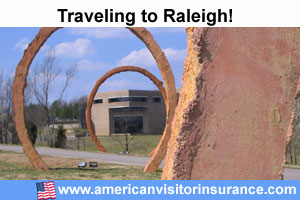 buy visitor insurance for Raleigh