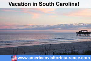 Travel insurance South Carolina