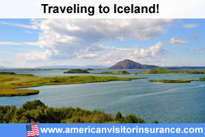 Buy visitor insurance for Iceland