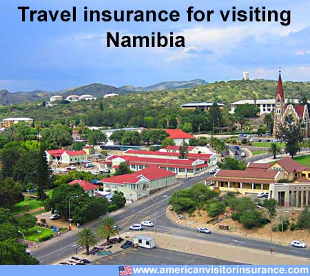 travel insurance for visiting Namibia