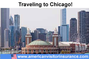 Buy visitor insurance for Chicago