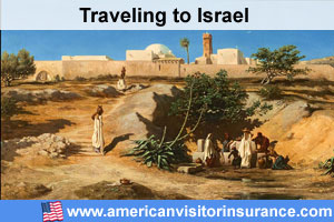 Buy visitor insurance for Israel
