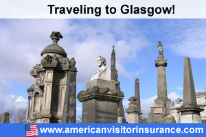 Buy visitor insurance for Glasgow