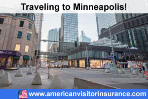 Buy visitor insurance for Minneapolis