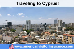 Buy visitor insurance for Cyprus