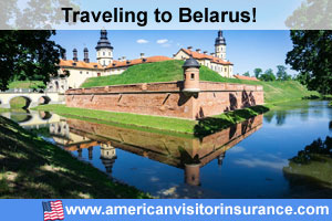 Buy visitor insurance for Belarus