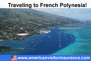 Buy visitor insurance French Polynesia