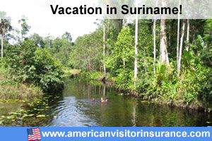 Suriname travel insurance