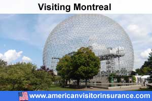 Buy travel insurance for Montreal
