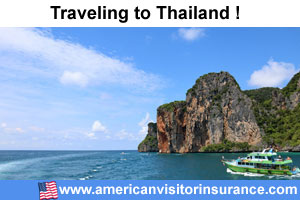 Buy visitor insurance for Thailand