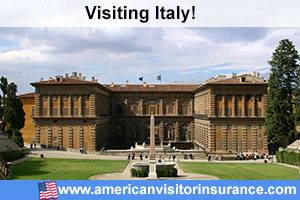 Buy travel insurance for Italy