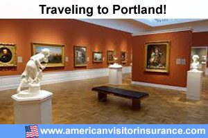 Buy visitor insurance for Portland