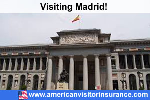 Travel insurance for Madrid