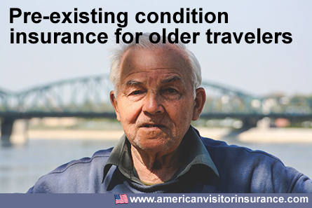 Pre-Existing Conditions Insurance cover for Older Travelers