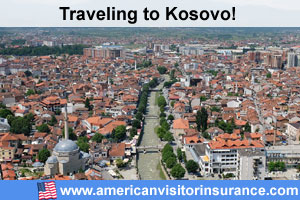 Buy visitor insurance for Kosovo