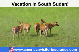 Travel insurance visiting europe for South Sudan