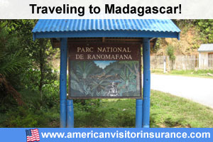 Buy visitor insurance for Madagascar