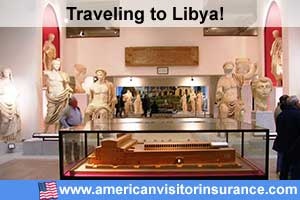 Buy visitor insurance for Libya