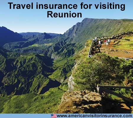 travel insurance for visiting Reunion