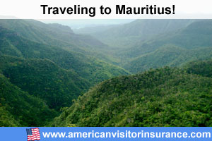 Buy visitor insurance for Mauritius