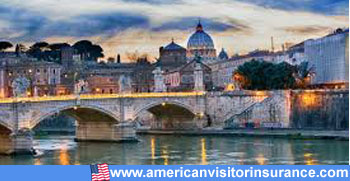 Travel insurance for rome