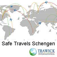 Safe Travels Schengen Visa Logo