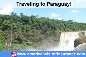 Buy visitor insurance for Paraguay