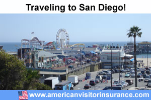 Travel insurance for San Diego