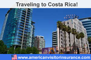 Buy visitor insurance for Costa Rica