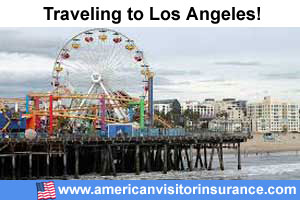 Buy visitor insurance for Los Angeles