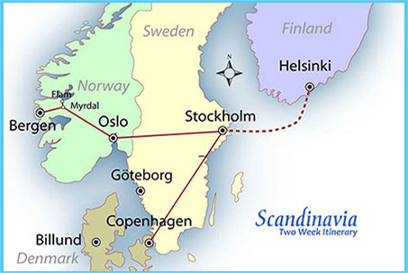 Travel insurance for Scandinavian Cruise