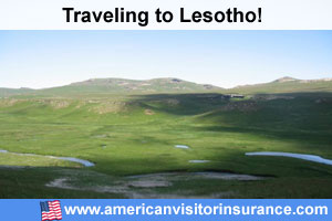 Buy visitor insurance for Lesotho