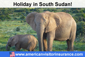 travel insurance for visiting South Sudan