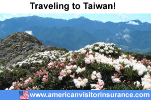 Buy visitor insurance for Taiwan