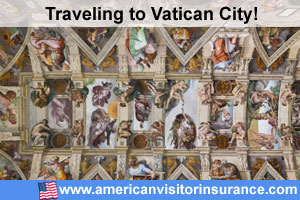 Buy visitor insurance for Vatican