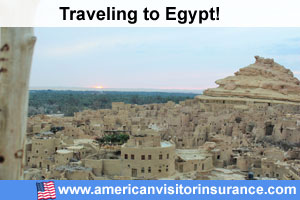 Buy visitor insurance for Egypt