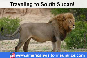 Travel helath insurance europe for South Sudan
