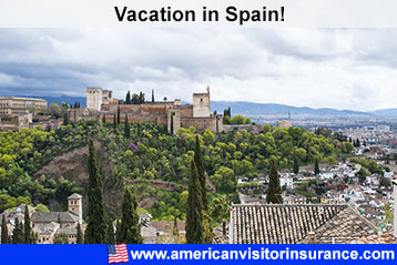 visitor insurance for Spain
