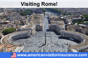 Buy travel insurance for Rome