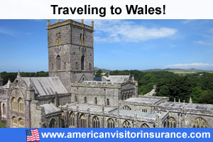 Buy visitor insurance for Wales