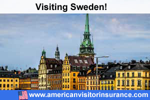 Buy travel insurance for Sweden